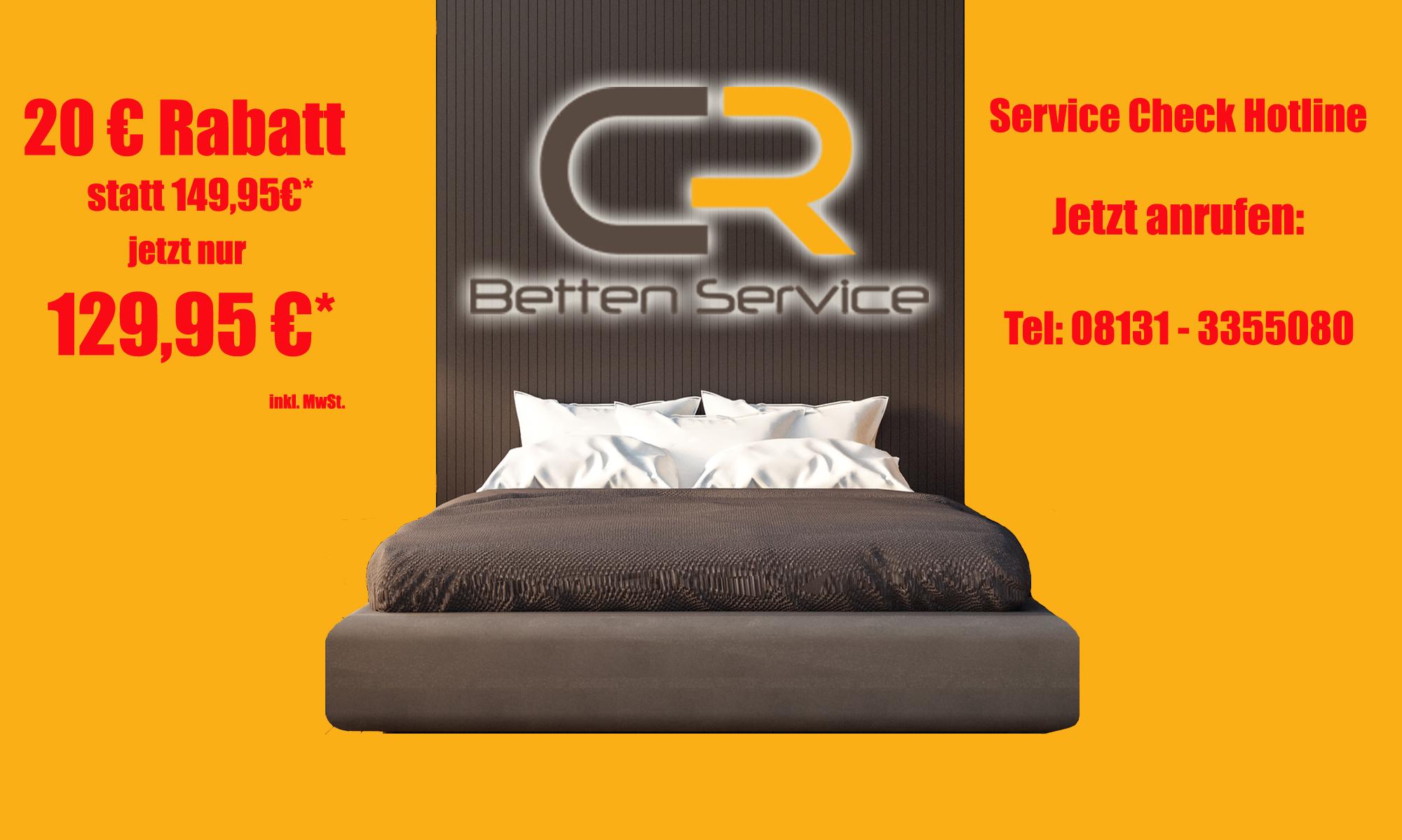 Favorit www.betten-service.de – Professioneller Service Check für Ihr Bett BM76